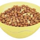 Los cacahuetes y los problemas digestivos