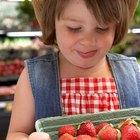 Datos de las fresas para niños pequeños