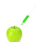 Calorías de una manzana verde