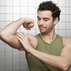 ¿Cómo puedo ganar músculo si mis brazos son delgados?