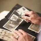 Cómo limpiar el moho de una vieja fotografía