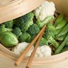 ¿Qué alimentos puedes cocinar en una vaporera?