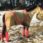 Cómo hacer mantas para caballos