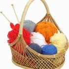 Cómo endurecer elementos de lana para darles forma