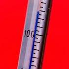 Cuál es la temperatura normal debajo del brazo?