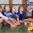Cómo enseñar gimnasia a niños