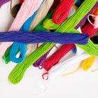 Como hacer trenzas con lana