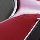 Cómo arreglar la pintura descolorida del auto