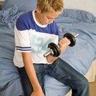 Cómo hacer para que los adolescentes delgados ganen peso en músculos