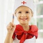 Cómo hacer una cofia de enfermero para niños