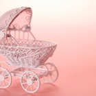 How to Make a Baby Carriage Centerpiece