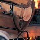 Cómo construir leños falsos ardiendo