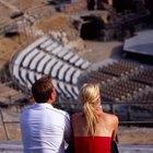 Partes del teatro griego: el diazoma