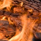 How to Make a Wood Fire in a Barbeque Pit