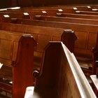 ¿Cómo crear reclinatorios de iglesias?