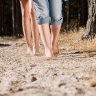 Decoloración de la piel en las piernas