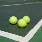 ¿De qué están hechas las pelotas de tenis?