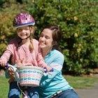 ¿A qué edad aprenden los chicos a andar en bicicleta?
