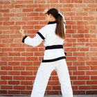 Cómo entrenar Tae Kwon Do en tu hogar