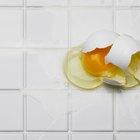 Experimentos de caída de huevos