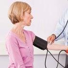 Presión sanguínea acostado vs. de pie