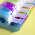 Cómo hacer cinta adhesiva