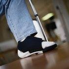 Cómo hacer ejercicio con un pie roto