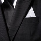 How to Fold a Handkerchief in a Suit