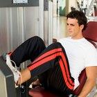 Qué musculos trabaja la máquina de prensa de piernas