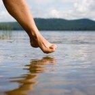 Cómo se cura un tendón estirado del pie
