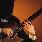 Técnica de punteo con los dedos para guitarra clásica
