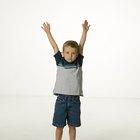 Actividades no locomotoras para niños en edad preescolar
