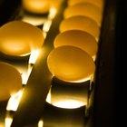 La cantidad de lecitina en los huevos