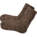 Cómo hacer calcetines de tela
