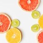 ¿Qué frutas tienen ácido cítrico?