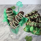 Irish Cream-Soaked Ladyfingers for St. Paddy's Day
