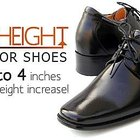 Look Taller with Mens elevator shoes
