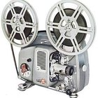 8mm film was popular for home movies in the mid 20th Century