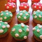 Make Mario Mushroom Cupcakes