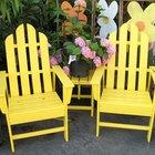 Plans to Make Miniature Adirondack Chairs