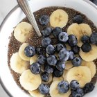 High-Protein Overnight Blueberry and Banana Chia Breakfast Bowl