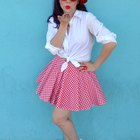 DIY Pin-Up Girl Costume