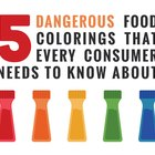 The 5 Most Dangerous Food Colorings Every Consumer Should Know About