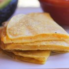 How to Make Quesadillas With Corn Tortillas