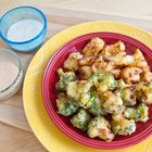 Make Batter Fried Broccoli and Cauliflower for Kids