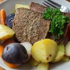 ¿Se puede cocinar nalga de res en una olla de cocción lenta?