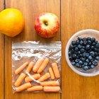Cómo llevar frutas y verduras en los aviones
