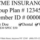 How to Understand a Health Insurance Card