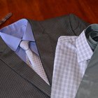 What Type of Tie Can Be Worn With a Pinstripe Suit?