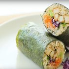 How to Make a Sesame Chicken Nori Burrito